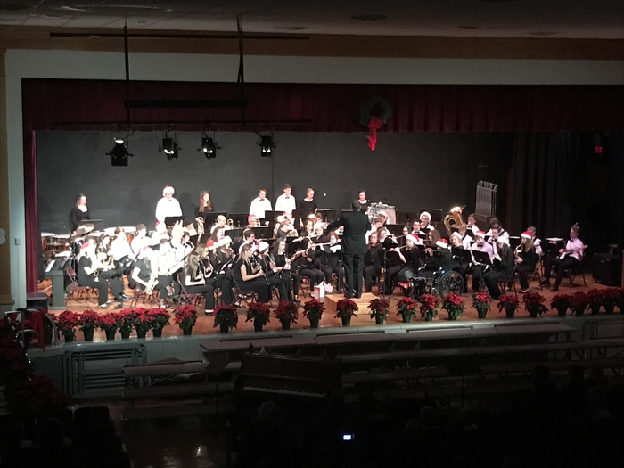 Holiday Concert with the High School Band!