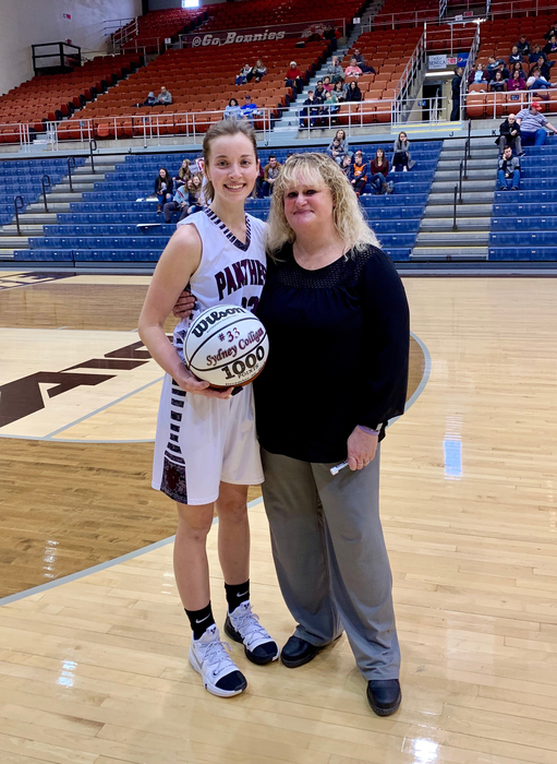 Congratulations on Syd Colligan's 1000th career point!!