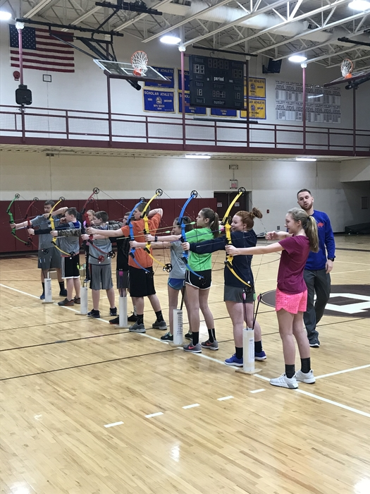 Jr. High Archery!