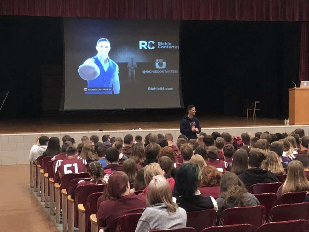 Motivational Speaker- Richie Contartesi at PCS!