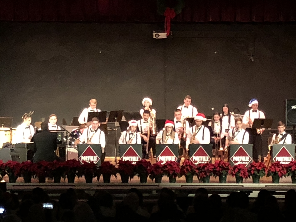 Jazz Band Performing at the Holiday Concert!